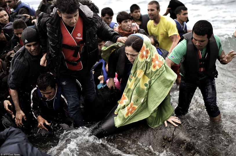 Uchodźcy /East News
