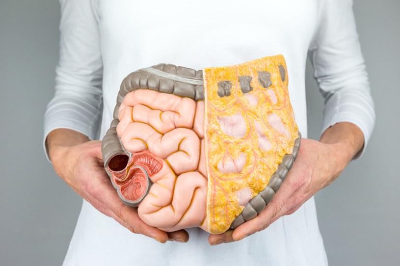 Uchyłki w jelitach mogą wywoływać nieznośny ból /123RF/PICSEL