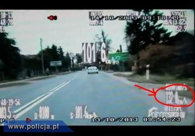 Ucieczka była dynamiczna, ale krótka /Policja