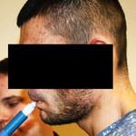 Uciekał policji, był pod wpływem narkotyków. Nie mógł wysiąść z auta