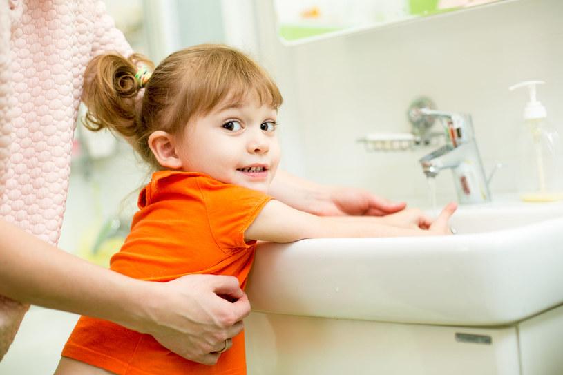 Ucz dziecko zasad higieny /123RF/PICSEL