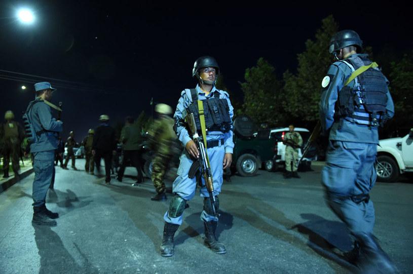 Uczelnia została otoczona przez elitarne jednostki afgańskich sił bezpieczeństwa /AFP