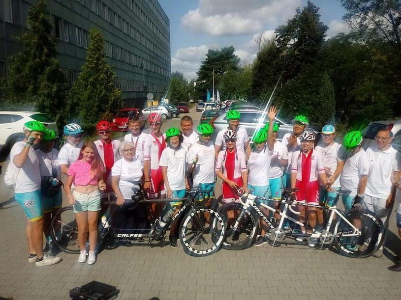Uczestnicy Blind Race/ Źródło: Facebook Polski Komitet Paraolimpijski /