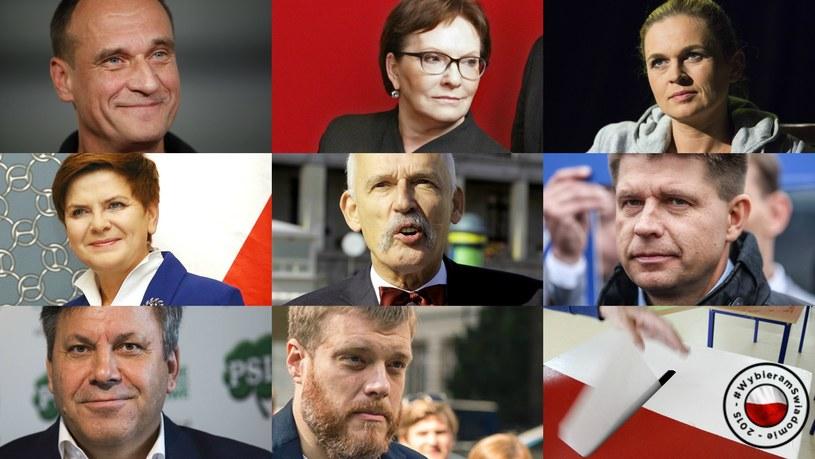 """Uczestnicy """"Debaty liderów"""" /Reporter"""