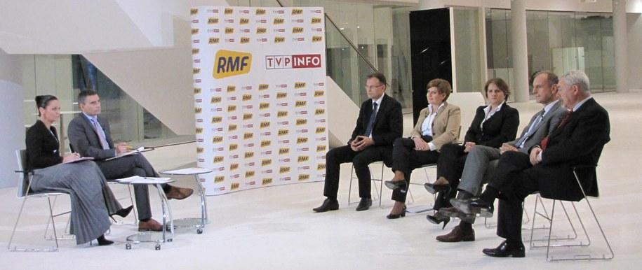 Uczestnicy debaty /Józef Polewka /RMF FM