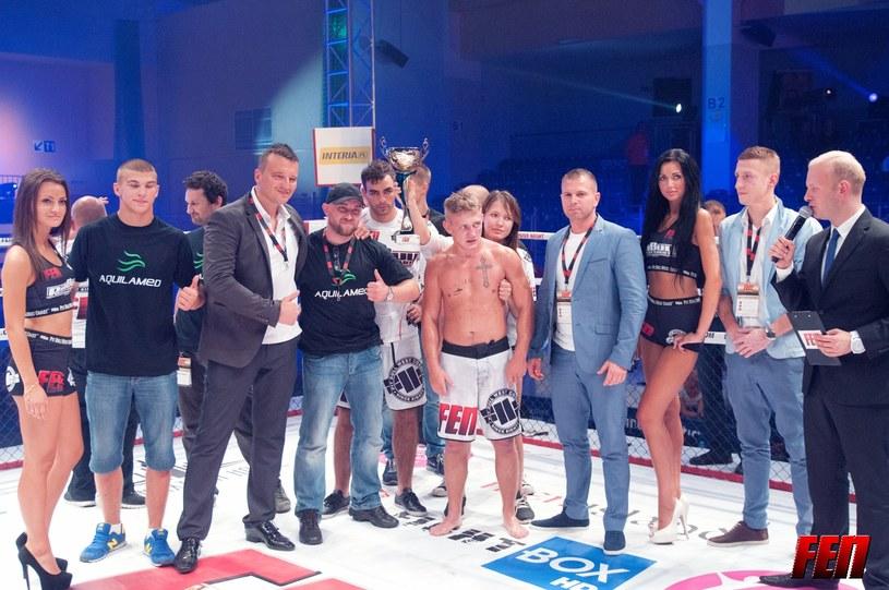 Uczestnicy gala walk kickboxingu i MMA Fight Exlusive Night 4. Fot. FEN / Paweł Najmowicz /Informacja prasowa