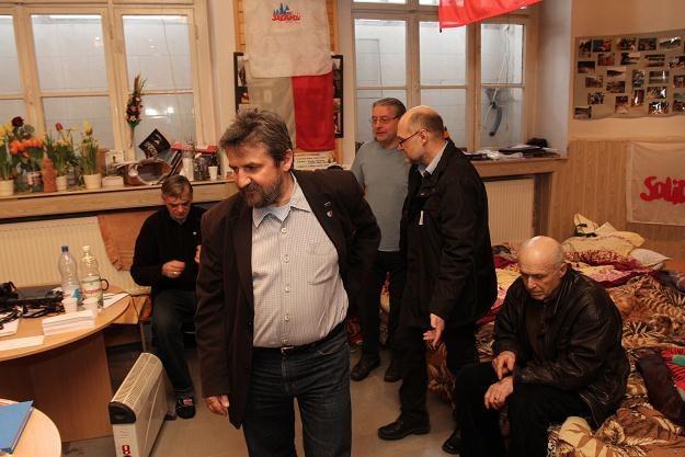 Uczestnicy krakowskiej głodówki/fot. J. Bednarczyk /PAP
