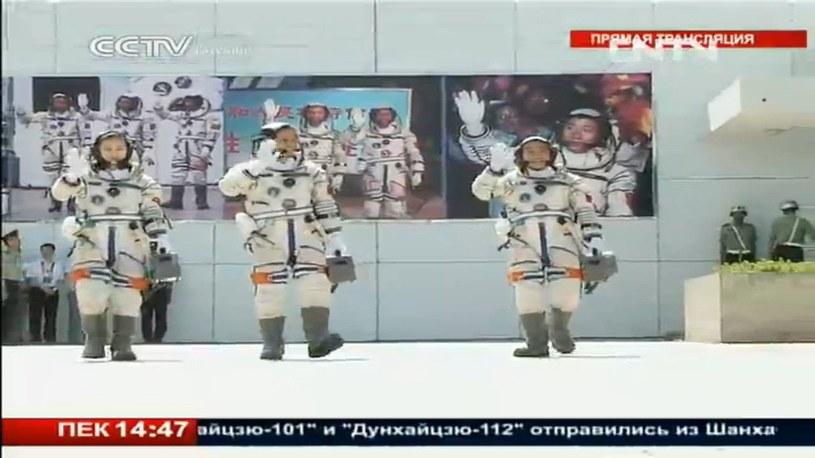 Uczestnicy lotu Shenzhou 10 /Kosmonauta