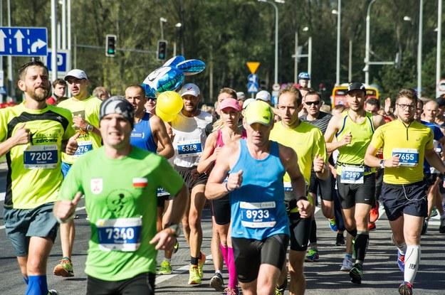 Uczestnicy maratonu, zdj. ilustracyjne /Daniel Gnap /East News