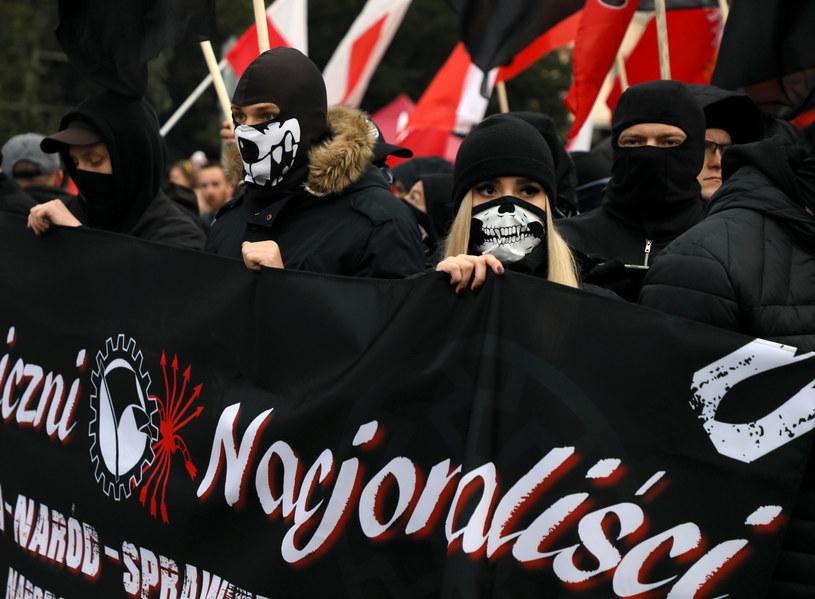 Uczestnicy Marszu Niepodległości w Warszawie, 11 listopada 2019 /Jakub Kamiński   /East News