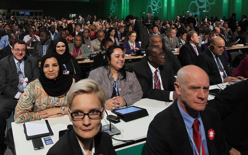 Uczestnicy obrad podczas inauguracji Konferencji Klimatycznej /Radek Pietruszka /PAP