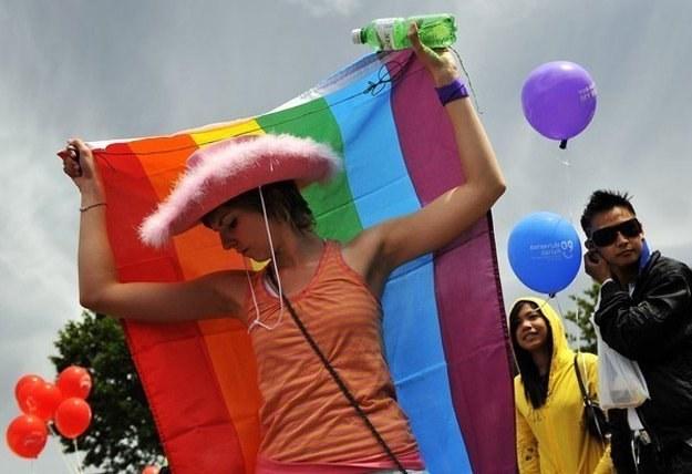 Uczestnicy parady wyruszą o godzinie 13. /AFP