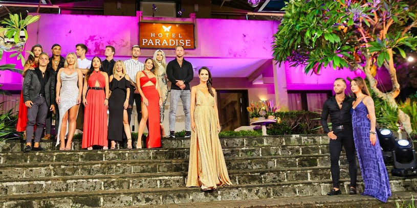 """Uczestnicy pierwszej edycji """"Hotelu Paradise"""" /TVN"""