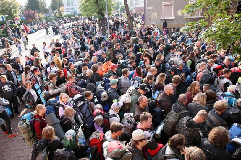 Uczestnicy Pol'and'Rock Festival (dawniej Przystanek Woodstock) w Kostrzynie nad Odrą, wracają do domów / Lech Muszyński    /PAP