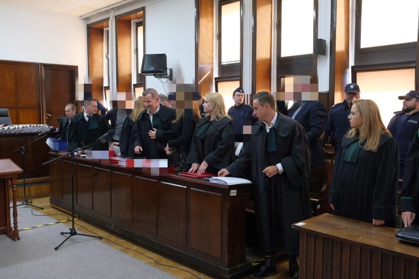 Uczestnicy procesu na sali Sądu Okręgowego w Warszawie /Mateusz Marek /PAP
