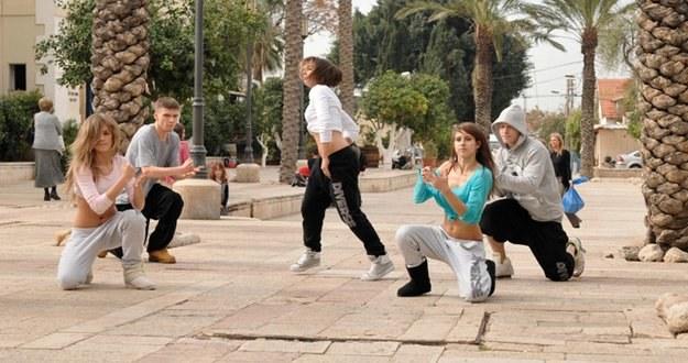 "Uczestnicy programu ""You Can Dance"" w Tel Avivie /TVN"