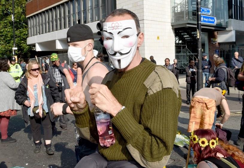 Uczestnicy protestu /MCPIX/REX Shutterstock /East News