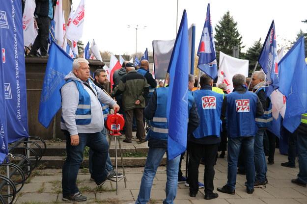 Uczestnicy protestu /Józef Polewka /RMF FM