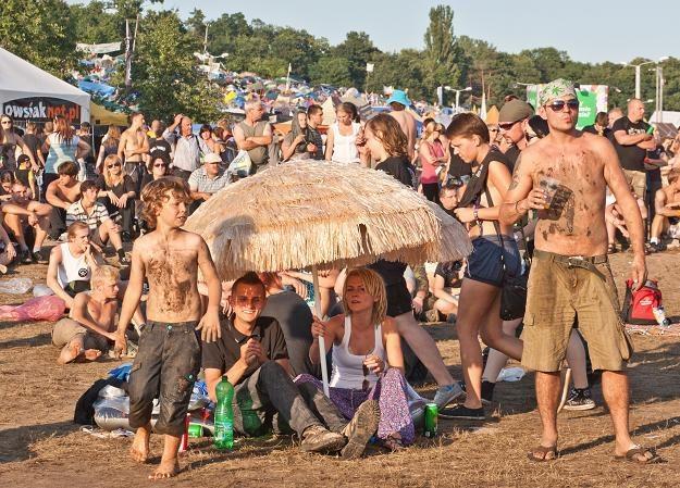 Uczestnicy Przystanku Woodstock 2012 /fot. Lech Muszyński /PAP