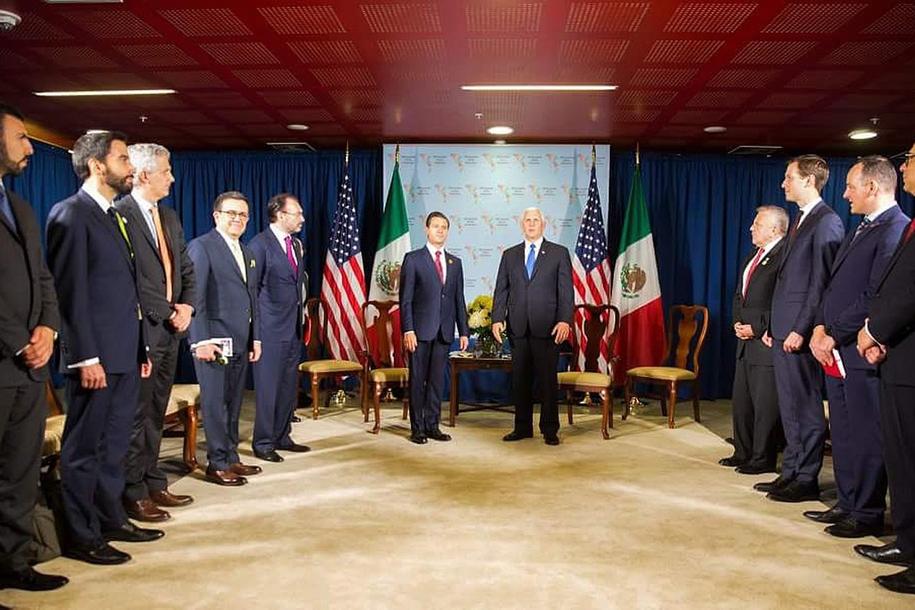 Uczestnicy spotkania w Limie /Presidency of Mexico / HANDOUT /PAP/EPA