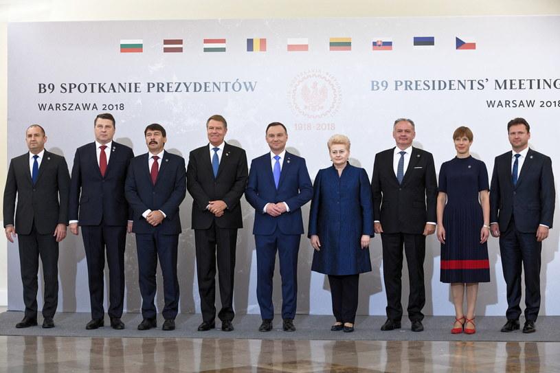 Uczestnicy szczytu /Jacek Turczyk /PAP