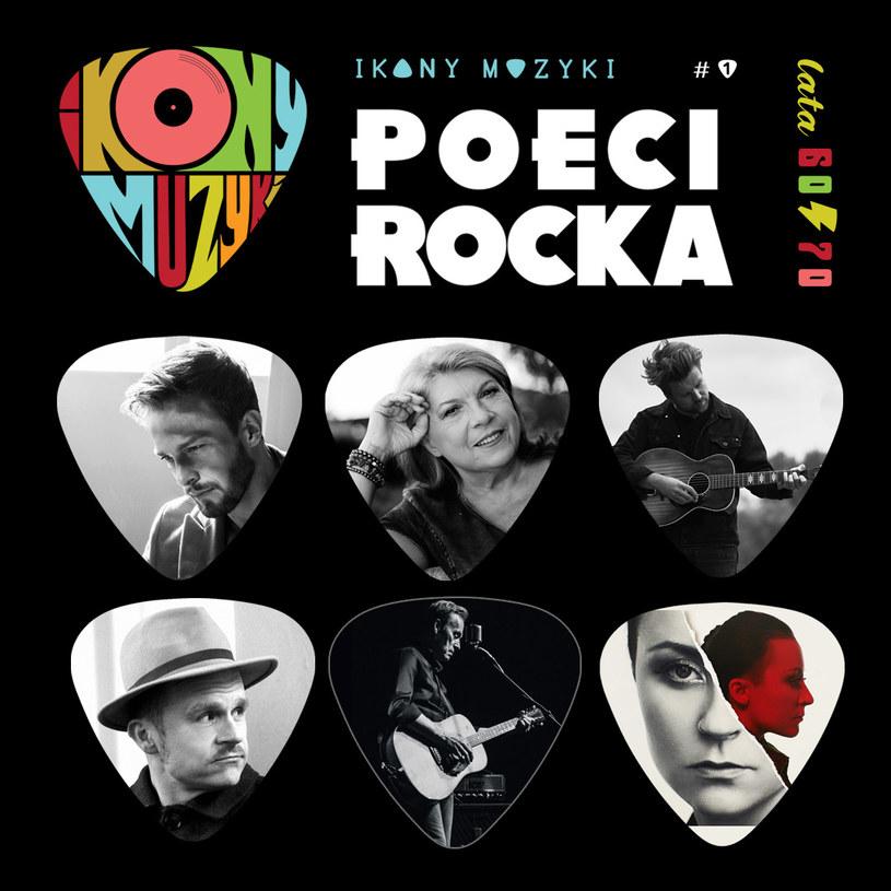 """Uczestnicy trasy """"Poeci Rocka"""" /materiały prasowe"""
