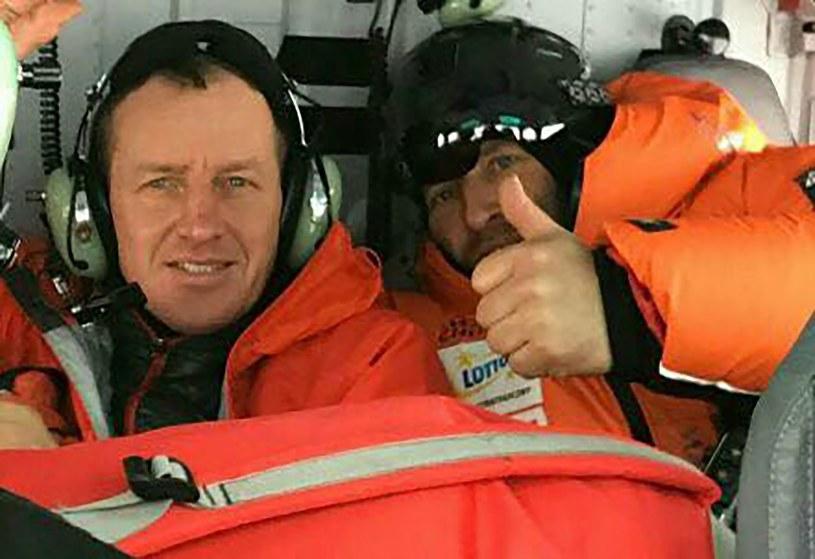 Uczestnicy wyprawy na K2 ruszają na ratunek Revol i Mackiewiczowi. /AFP PHOTO / JASMINE TOURS /East News