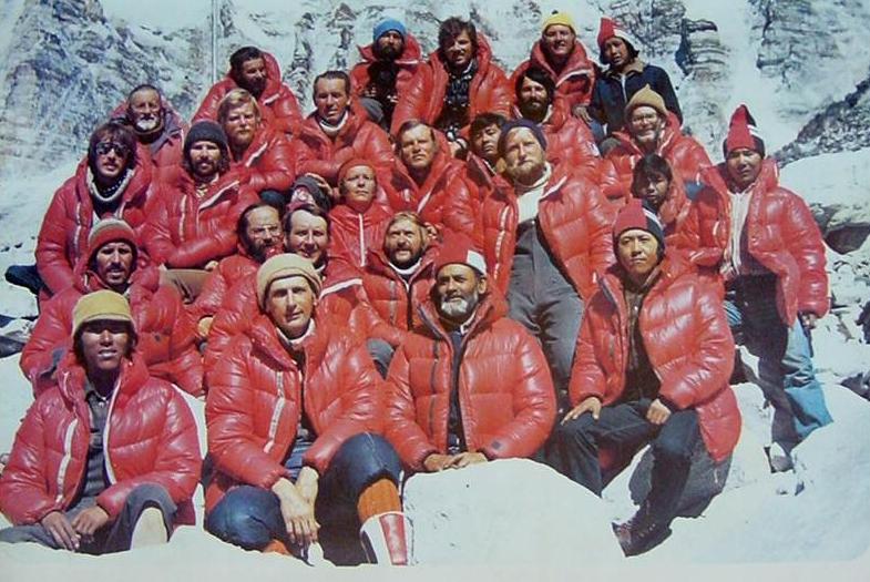 Uczestnicy wyprawy na Mount Everest z 1980 roku /Wikimedia Commons /materiały prasowe