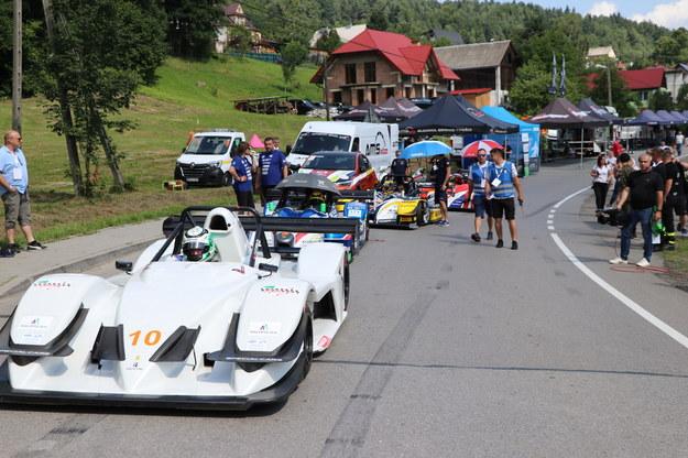 Uczestnicy wyścigu /Jacek Skóra /RMF FM
