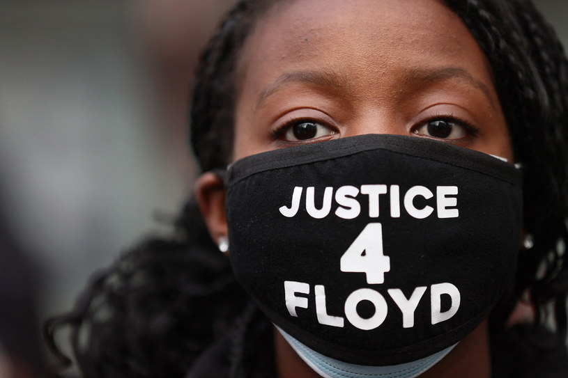 Uczestniczka demonstracji po śmierci George'a Floyda, zdjęcie ilustracyjne /SCOTT OLSON / GETTY IMAGES NORTH AMERICA / GETTY IMAGES VIA AFP /AFP