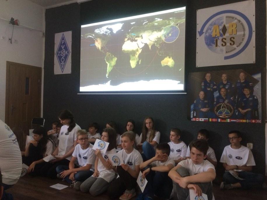 Uczniowie byli zachwyceni tym, czego nauczyli się podczas lekcji /Mateusz Chłystun /RMF FM