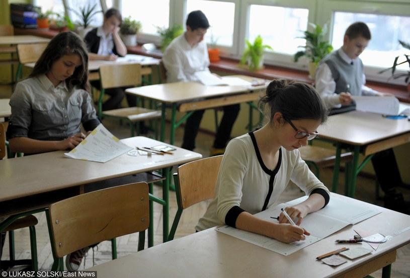 Uczniowie tuż przed sprawdzianem, zdj. archiwalne /Łukasz Solski /East News