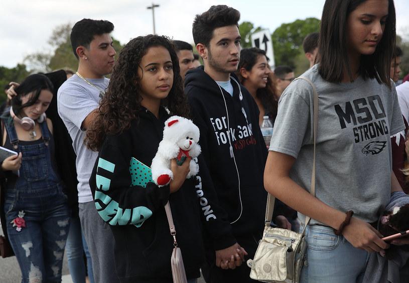 Uczniowie z Parkland /AFP