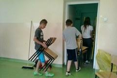 Uczniowie z Raciechowic czekają na nową pracownię