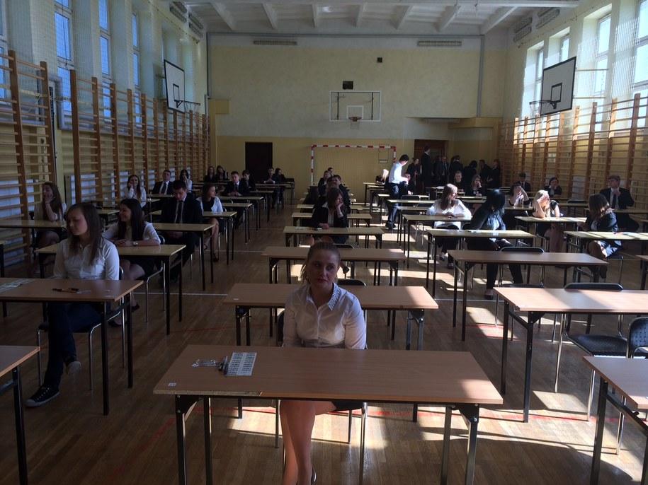 Uczniowie z VI LO w Lublinie /Krzysztof Kot /RMF FM