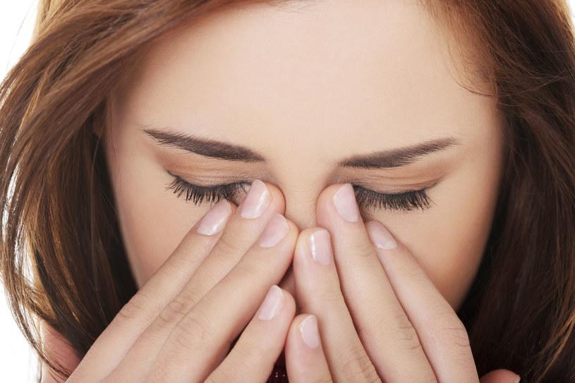 Uczucie ucisku u nasady nosa? Lepiej to zbadać! /123RF/PICSEL