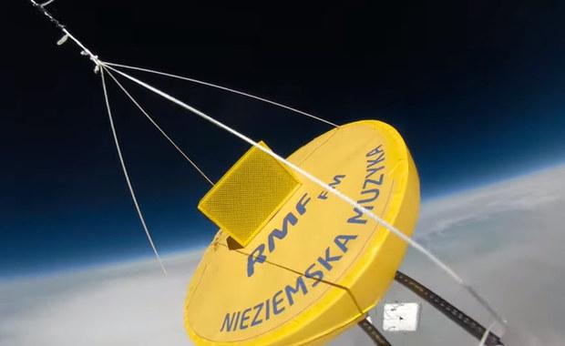 Udało się! RMF podbił stratosferę. Zobacz niesamowity film z naszej misji!