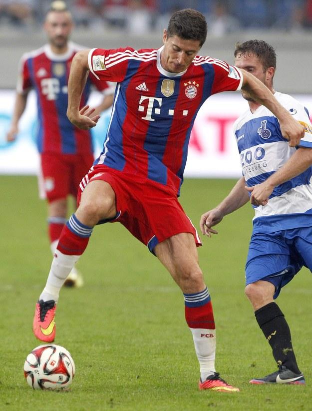 Udany debiut Roberta Lewandowskiego w Bayernie. Zdobył pierwszego gola