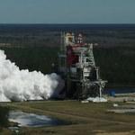 Udany drugi test rakiety SLS - ważny element misji Artemis-1
