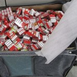 Udaremniono nielegalny wwóz blisko 100 tys. szt. papierosów