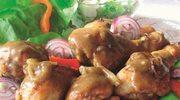 Udka kurczaka w sosie  miodowo-piwnym
