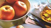 Udka w miodzie  z jabłkami