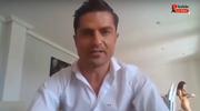 Udzielał wywiadu online, nagle w tle pojawiła się naga kobieta