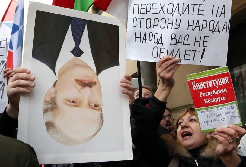 UE apeluje do białoruskich władz w sprawie demonstrantów /PAP/EPA