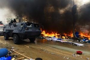 UE apeluje o zaniechanie przemocy w Egipcie