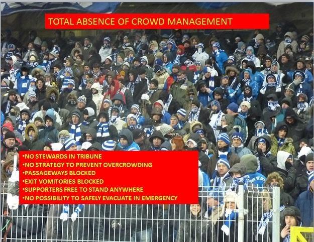 UEFA alarmuje: Na stadionie Lecha nikt nie zarządza tłumem! /INTERIA.PL