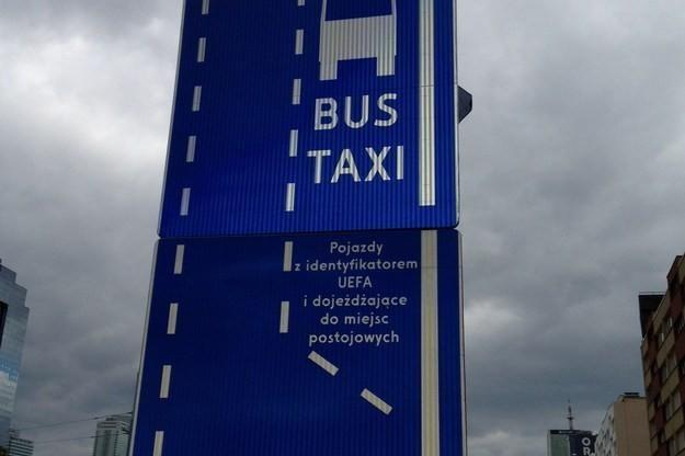 UEFA dostała własne pasy /RMF