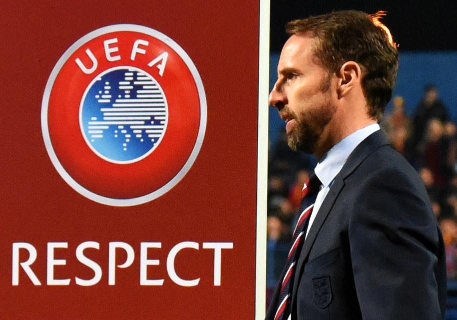 UEFA wszczęła postępowanie w sprawie zajść podczas meczu Anglia - Czarnogóra /BORIS PEJOVIC /PAP/EPA