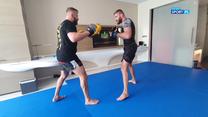 UFC 253: Jak Jan Błachowicz spędza czas w Abu Zabi? Najpierw trening, później relaks przy herbacie (POLSAT SPORT). Wideo