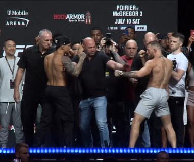 UFC 264. Ostre słowa McGregora przed walką z Poirierem: Będziesz martwy w oktagonie. Wideo